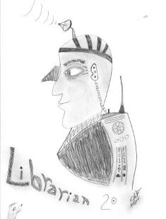 Librarian 2.0 image by Bob Farina