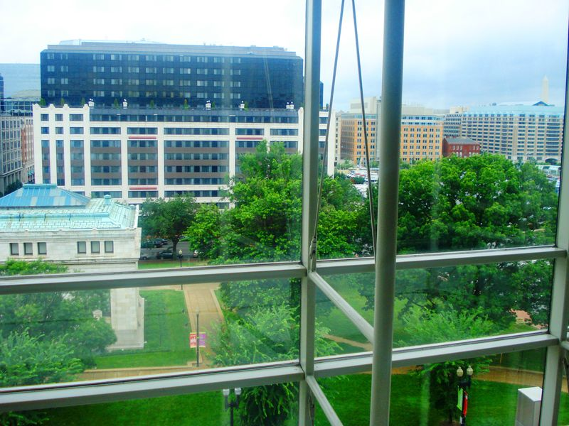 View from Walter E. Washington Convention Center - image by Marie Kaddell