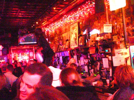 Inside Tootsie's Orchid Lounge - image by M. Kaddell