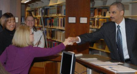 DOJ Patrick Henry Library Event