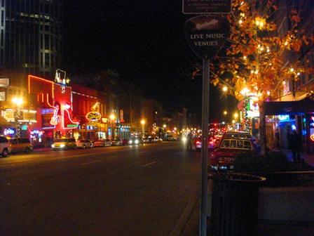 Broadway Honkey Tonks - Nashville - image by M. Kaddell
