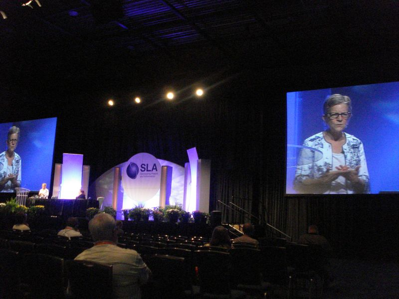 M E Bates at SLA 2010