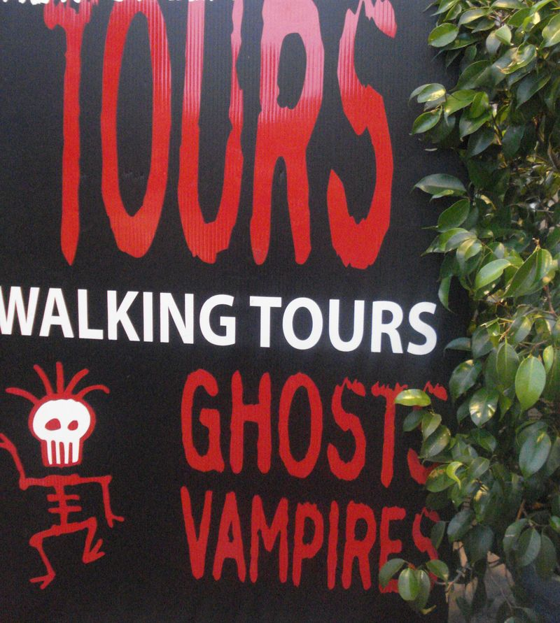Ghost and Vampire Tour - New Orleans