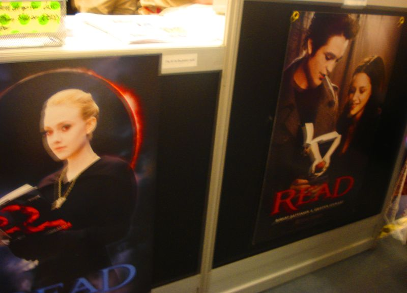 Twilight Read Posters at ALA 2010