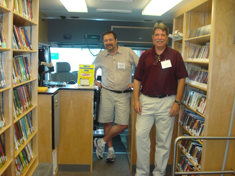 Frederick County Public Libraries Bookmobile Librarians - image by M. Kaddell