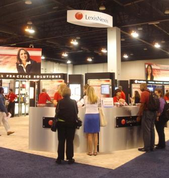AALL 2010 LexisNexis Booth
