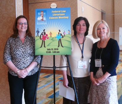 AALL 2010 Federal Librarian Caucus Organizers