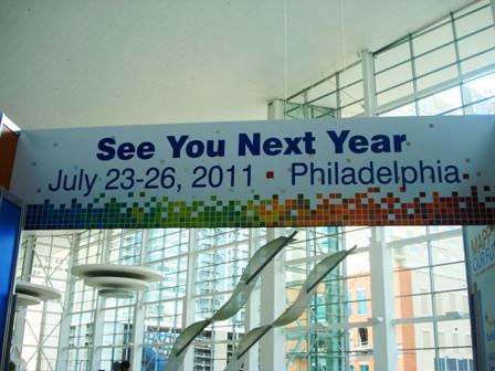 AALL 2010 Philadelphia 2011 Sign