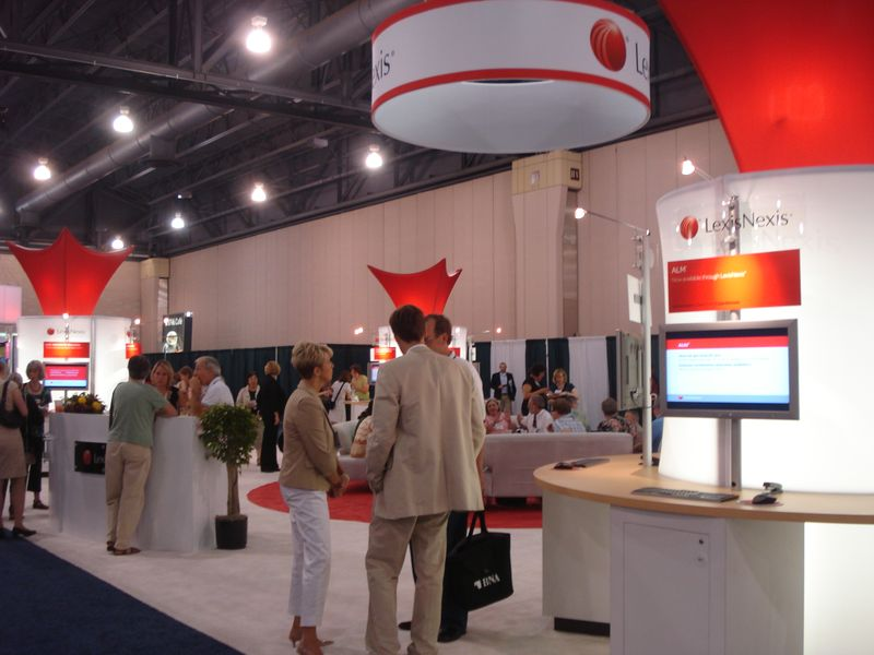 2011 AALL - LexisNexis Booth at Open Reception
