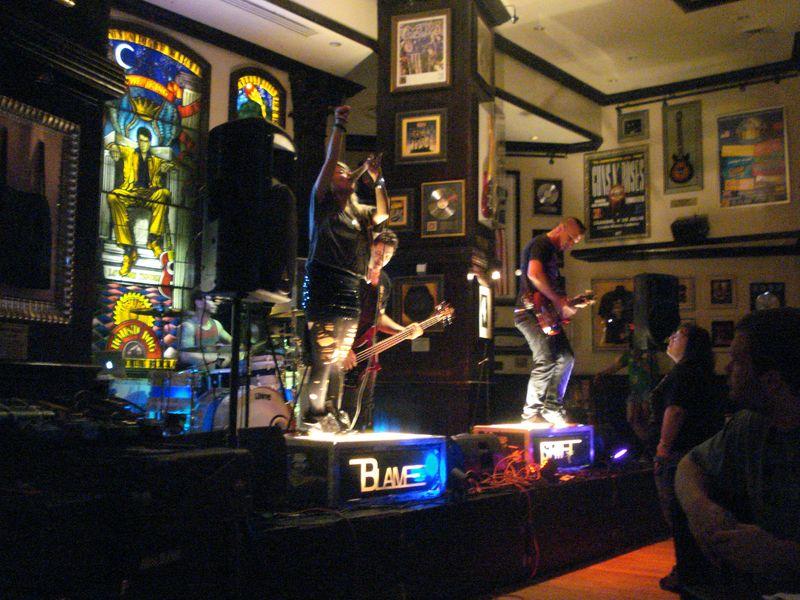 Blameshift at Hard Rock - Philadelphia