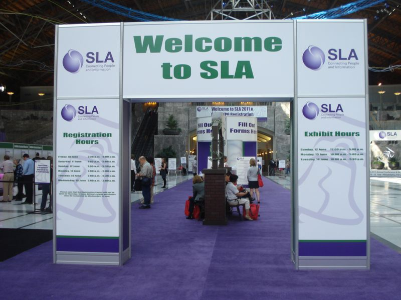 Welcome to SLA 2011 Sign