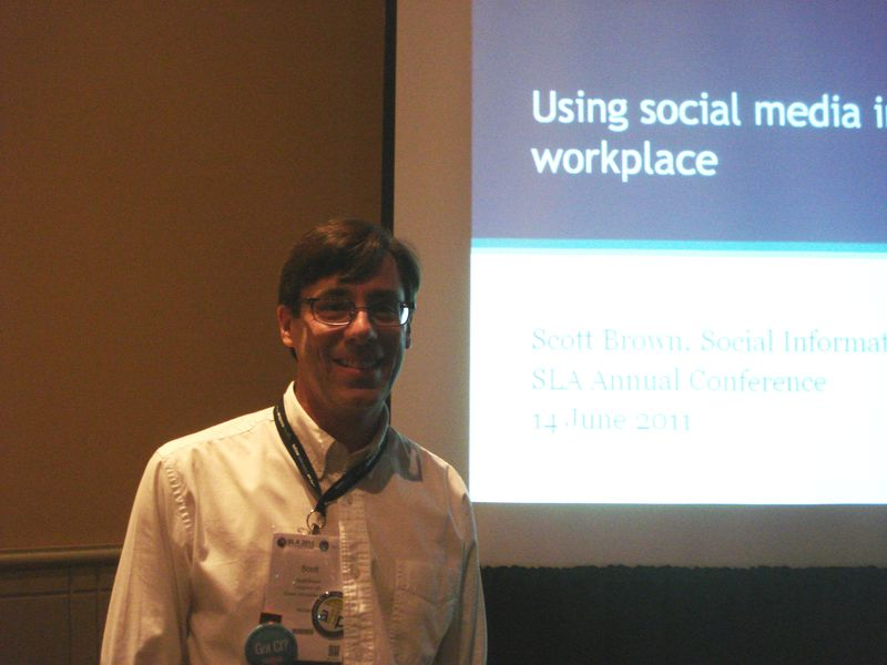 SLA 2011 - Scott Brown