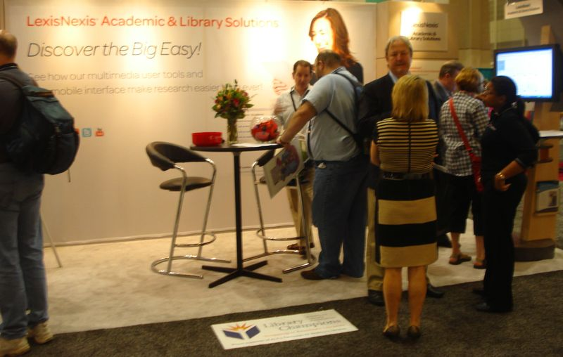 ALA 2011 - At the LexisNexis Booth