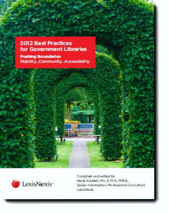 2012 Best Practices for Government Libraries
