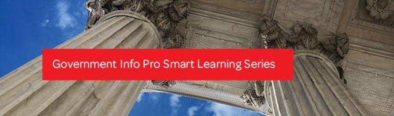 Gov Info Pro Smart Learning Banner