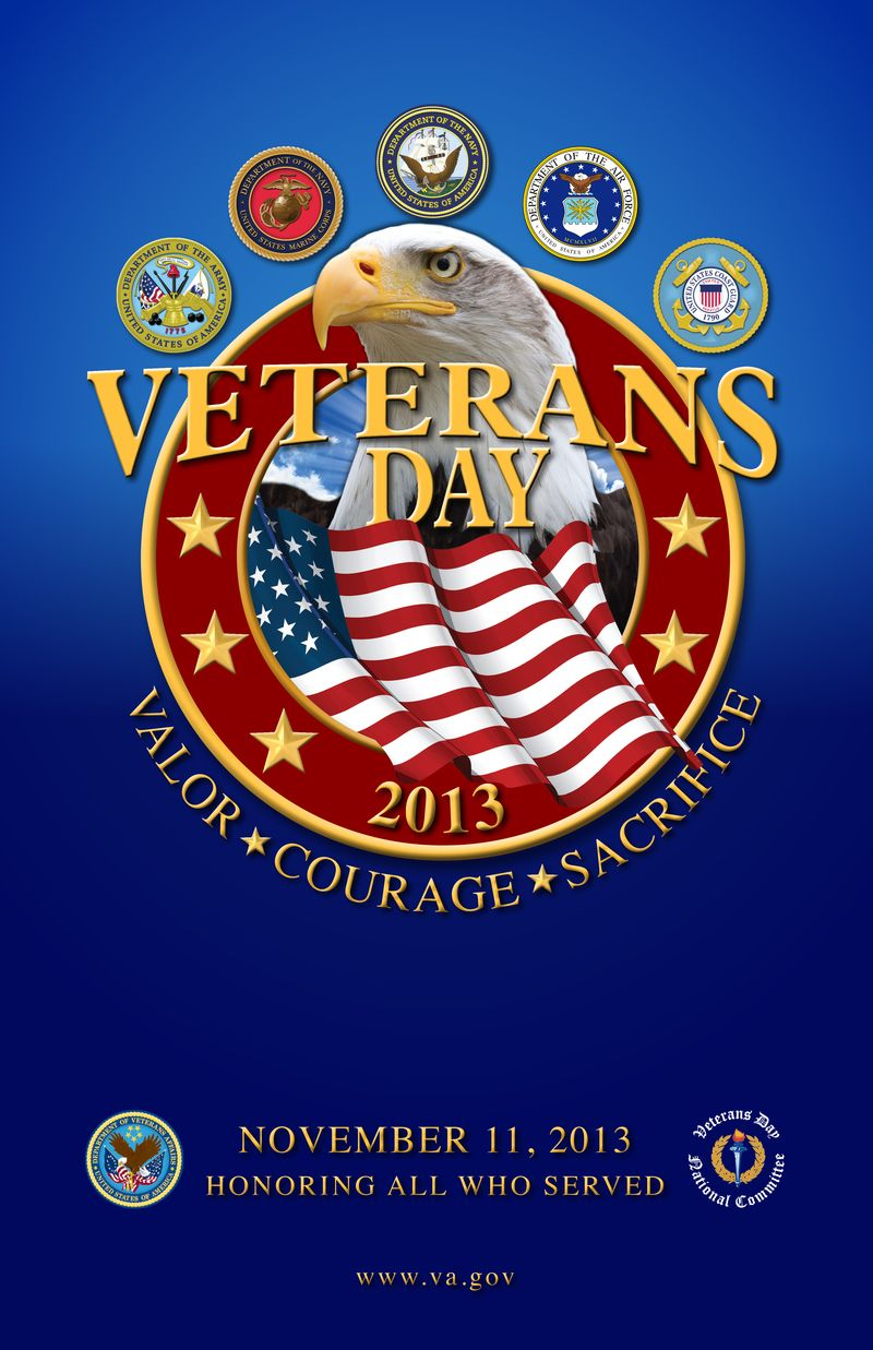 Veterans Day Poster 2013