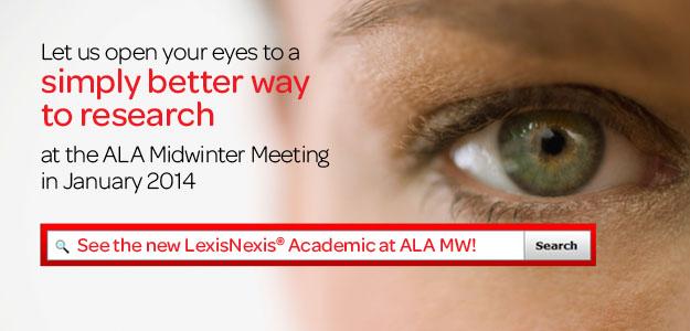 LexisNexis ALA Midwinter 2014