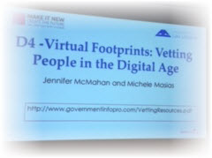 Virtual Footprint Screen AALL 16