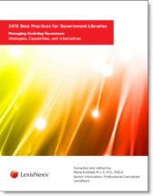 2013 Best Practices for Government Libraries