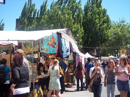 Portland Saturday Market - image by M. Kaddell
