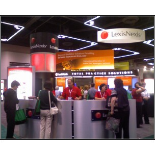 AALL2008 LexisNexis Booth - image by M. Kaddell