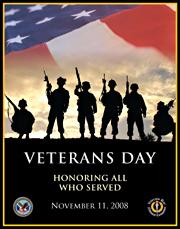 Veterans Day 2008 Poster